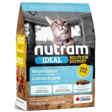 NUTRAM (Нутрам) I12 Solution Support контроль ваги для котів
