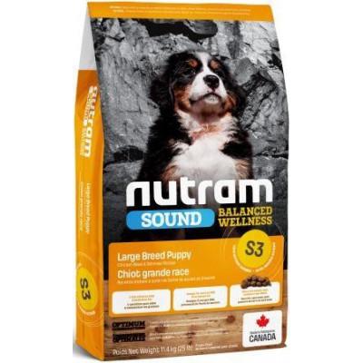 купити NUTRAM S3 NEW Sound Balanced Wellness Puppy, холистик корм для щенков крупных пород в Одеси