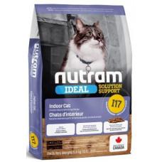 NUTRAM (Нутрам) I17 Solution Support Indoor Cat корм для тих котiв, що живуть у приміщенні
