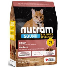 NUTRAM S1 NEW  Sound Balanced Wellness Kitten корм для котят