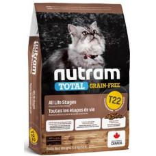 NUTRAM (Нутрам) T22 GRAIN-FREE Turkey & Chiken Cat з індичкою і куркою для котiв