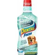 Dental Fresh Свежесть зубов  жидкость от зубного налета собак 503 мл