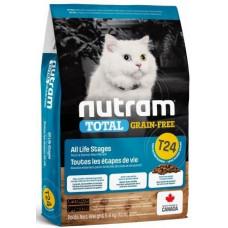 NUTRAM (Нутрам) T24 GRAIN-FREE Salmon & Trout Cat з лососем і фореллю для котiв