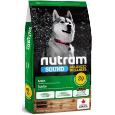 NUTRAM (Нутрам) S9 Sound Balanced Wellness Lamb & Rise, холістік корм c ягням для собак