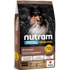 NUTRAM (Нутрам) T23 GF Turkey, Chicken & Duck Dog, холістік корм 3 види птиці