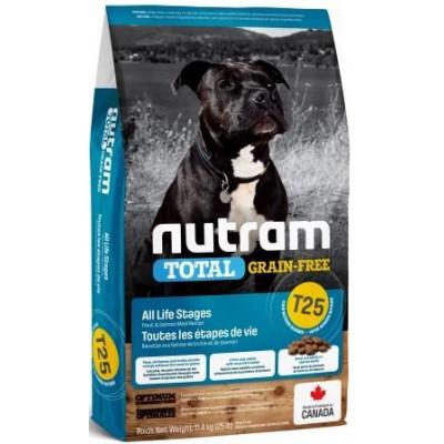 NUTRAM (Нутрам) T25 NEW Salmon & Trout Dog, холістік корм для собак, лосось / форель