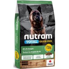 NUTRAM (Нутрам) T26 Lamb & Lentils Dog, холістік корм для собак, ягня / бобові