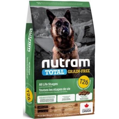 NUTRAM (Нутрам) T26 NEW Lamb & Lentils Dog, холістік корм для собак, ягня / бобові
