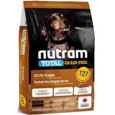 NUTRAM (Нутрам) T27 MINI Turkey, Chicken & Duck Dog, холістік для дрібних і мініатюрних порід