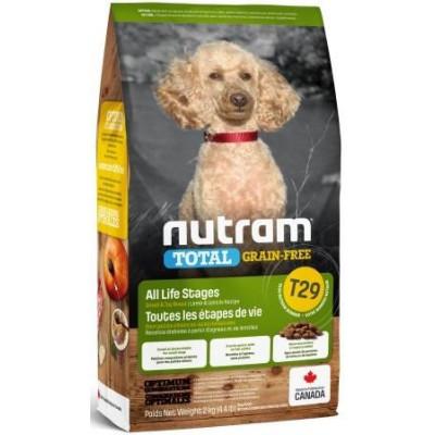 NUTRAM (Нутрам) T29 Grain-Free MINI Lamb Small, холістік корм без зерновий для дрібних порід, ягня