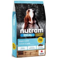 NUTRAM I18 NEW Ideal Solution Support Weight Control для собак, склонных к ожирению