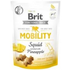 Brit Care Mobility Squid&Pineapple Функциональные лакомства для собак кальмар с ананасом,150г