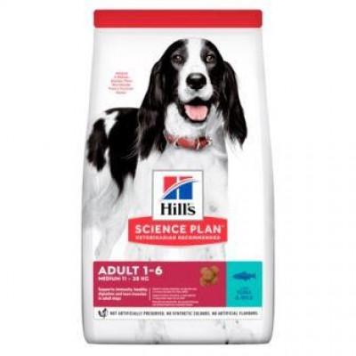 Hills (Хиллс) NEW Medium для взрослых собак средних пород с тунцом