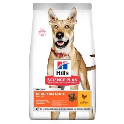 Hills (Хиллс) NEW Adult Performance сухой корм для активных, рабочих взрослых собак с курицей