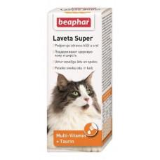 Beaphar Laveta Super - для шерсти кошек, 50мл