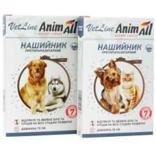 ANIMALL VetLine ошейник противопаразитарный для кошек и собак