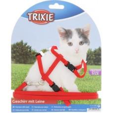 Шлейка с поводком для котят TRIXIE
