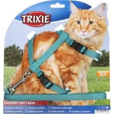 Шлейка с поводком для крупных котов TRIXIE
