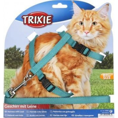 купити Шлейка с поводком для крупных котов TRIXIE в Одеси