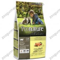 Pronature Holistic для котят с курицей и бататом