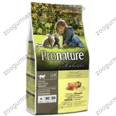 купити Pronature Holistic для котят с курицей и бататом в Одеси