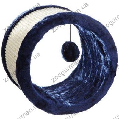 Трикси драпак-ролл(плюш)23х20см,синий/натур
