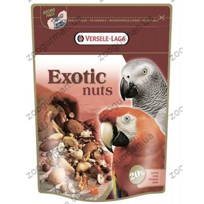 Versele-Laga Prestige ЭКЗОТИЧЕСКИЕ ОРЕХИ (Exotic Nut Mix) зерновая смесь корм для крупных попугаев , 0.75 кг.