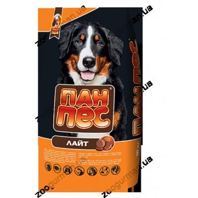 Пан Пес ЛАЙТ для собак склонных с полноте, 10 кг