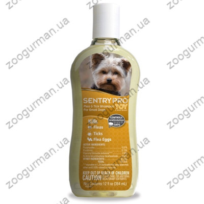 купити SENTRY PRO ТОЙ Toy Breed СЕНТРИ ПРО ТОЙ шампунь от блох и клещей для собак мини и малых пород , 0.354 л. в Одеси