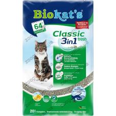 Наполнитель Biokats CLASSIC FRESH (3in1)