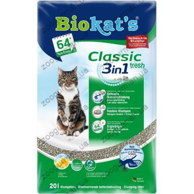 купити Наполнитель Biokats CLASSIC FRESH (3in1) в Одеси