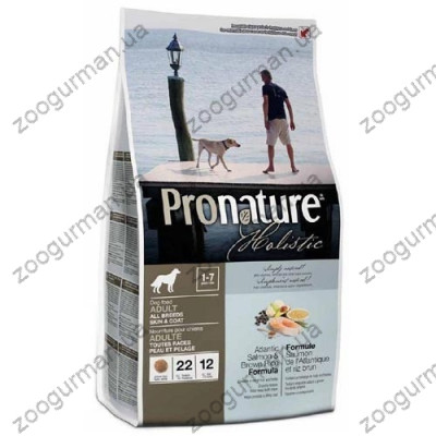 купити Pronature Holistic (Пронатюр Холистик) с атлантическим лососем и коричневым рисом в Одеси