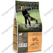 Pronature Holistic (Пронатюр Холистик) с уткой и апельсинами без злаков корм для собак