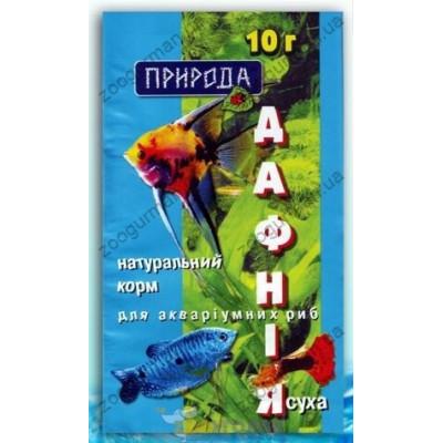 купити Дафния - сухой корм для аквариумных рыб, 10г (Природа) в Одеси
