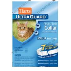 Hartz UltraGuard Cat ошейник для кошек от блох и клещей. Защита 7 месяцев