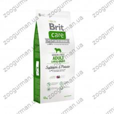 Brit Care (Брит Кеа) Adult Large Breed Salmon & Potato - корм для собак крупных пород (лосось/картофель)