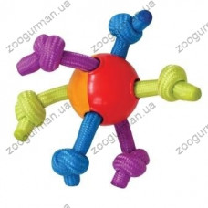"PETSTAGES Hearty Chew Игрушка для собак ""Мячик с канатами"""