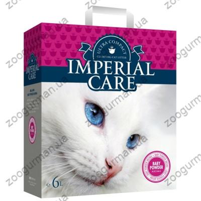 купити Imperial Care Baby Powder ультра-комкующийся наполнитель в кошачий туалет в Одеси