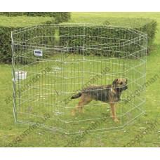 Savic ДОГ ПАРК (Dog Park) вольер для щенков, цинк, 8 панелей , 61Х61 см. см.
