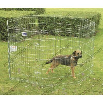 купити Savic ДОГ ПАРК (Dog Park) вольер для щенков, цинк, 8 панелей , 61Х61 см. см. в Одеси