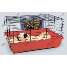 Savic ДЖЕЙМЕС (JAMES)  клетка для кроликов , синий, 50Х36Х28 см.