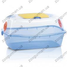 Imac YO-YO  АЙМАК ЙО-ЙО клетка для хомяков, песчанок, пластик , 54х39х27 см., голубой