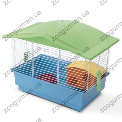 купити Imac Remy АЙМАК РЭМИ клетка для хомяков, песчанок, пластик , голубой см., 42х26,5х32 см см. в Одеси
