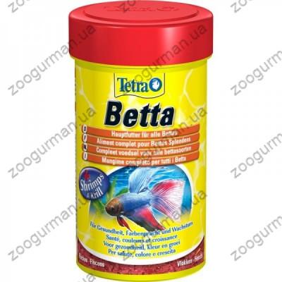 купити Tetra Betta 100 мл пластівці для півників в Одеси