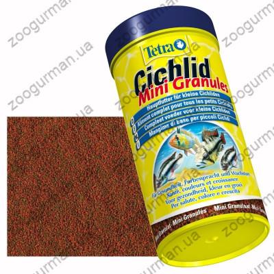 купити Tetra CICHLID Mini гранули для цихлід 250 мл в Одеси