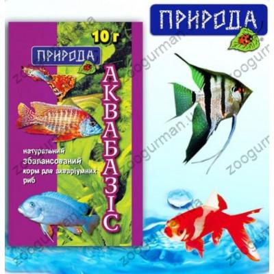купити Корм Аквабазис 10г в Одеси