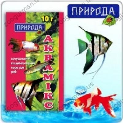 Корм для рыб Аквамикс 10г