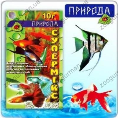 купити Корм для рыб Супермикс 10г в Одеси