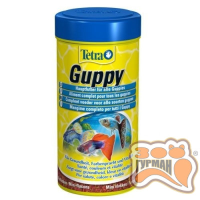 Tetra Guppy Flakes 100 мл хлопья для гуппи /197213