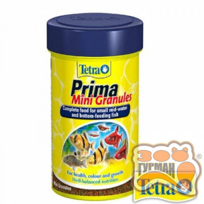 Tetra MIN (Рrima) Mini гранулы 100ml /199057